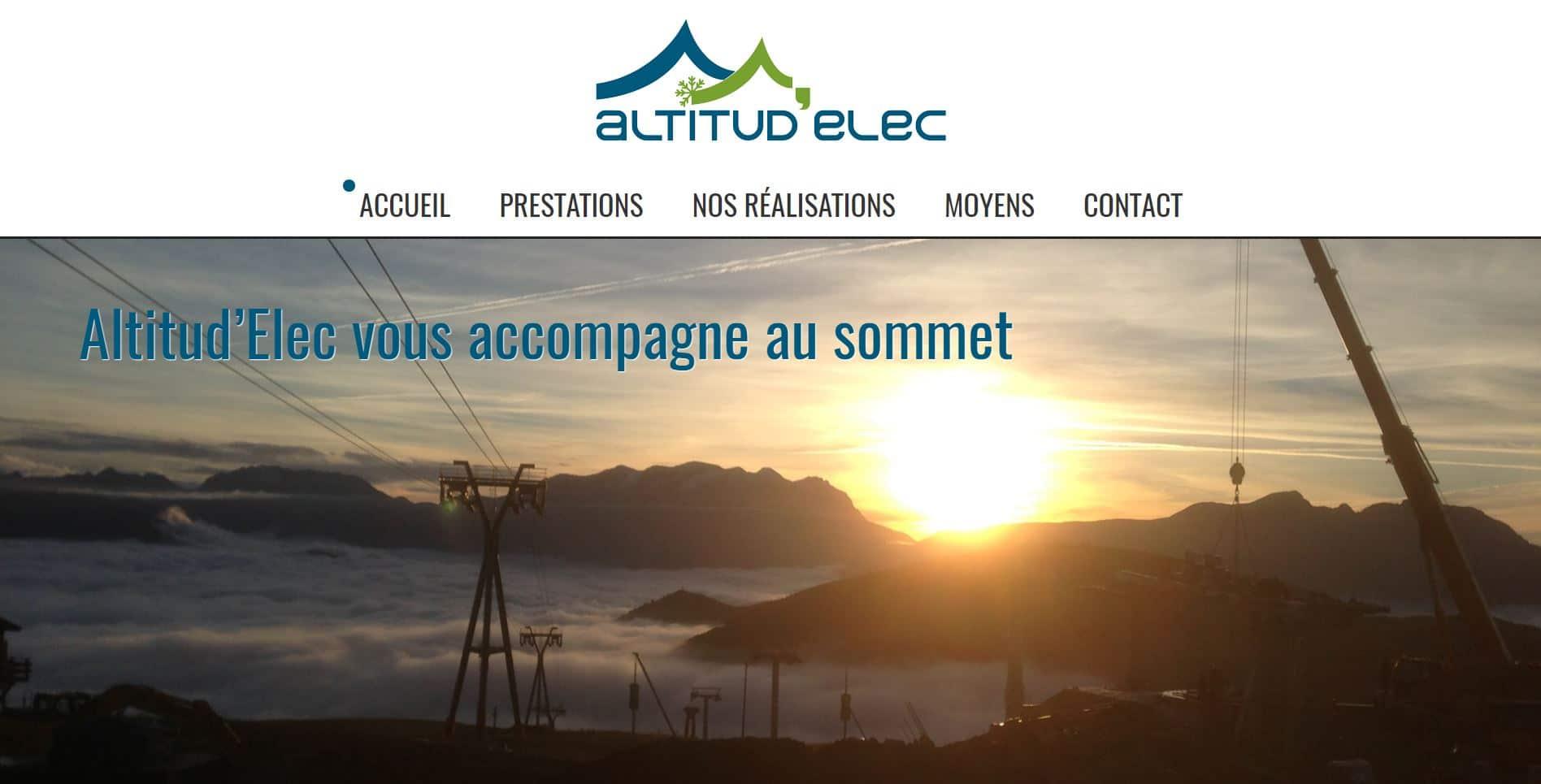 Site vitrine Laverie de l'Eclose